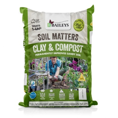 Baileys Soil Matters Clay & Compost