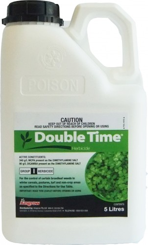 Double Time Herbicide