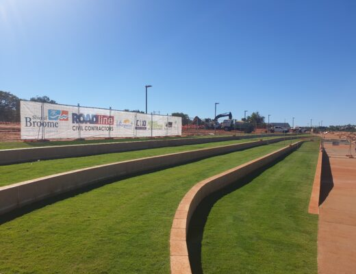 Sir Grange Turf on the beach in the Shire of Broome